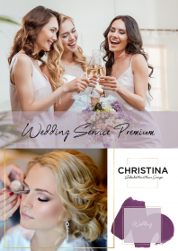 Wedding Service Premium - Brautstyling