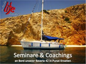 Business Seminare Segelboot in Kroatien