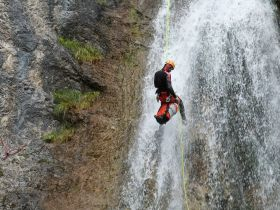 Canyoning Redfather Short, 5 Personen
