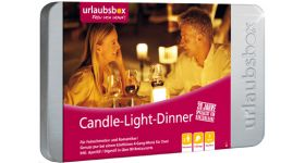 Candle-Light-Dinner Deluxe für 2