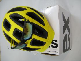 Uvex City E + Uvex Brille Sportstyle