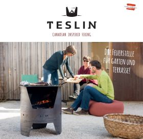 TESLIN move - mobile Feuerstelle
