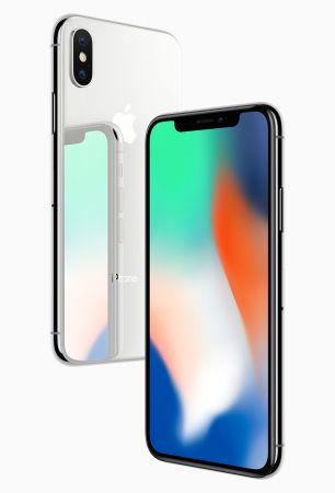 iPhone X 64GB in Silber